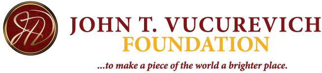 John T. Vucurevich Foundation Logo; Click to return to the home page.